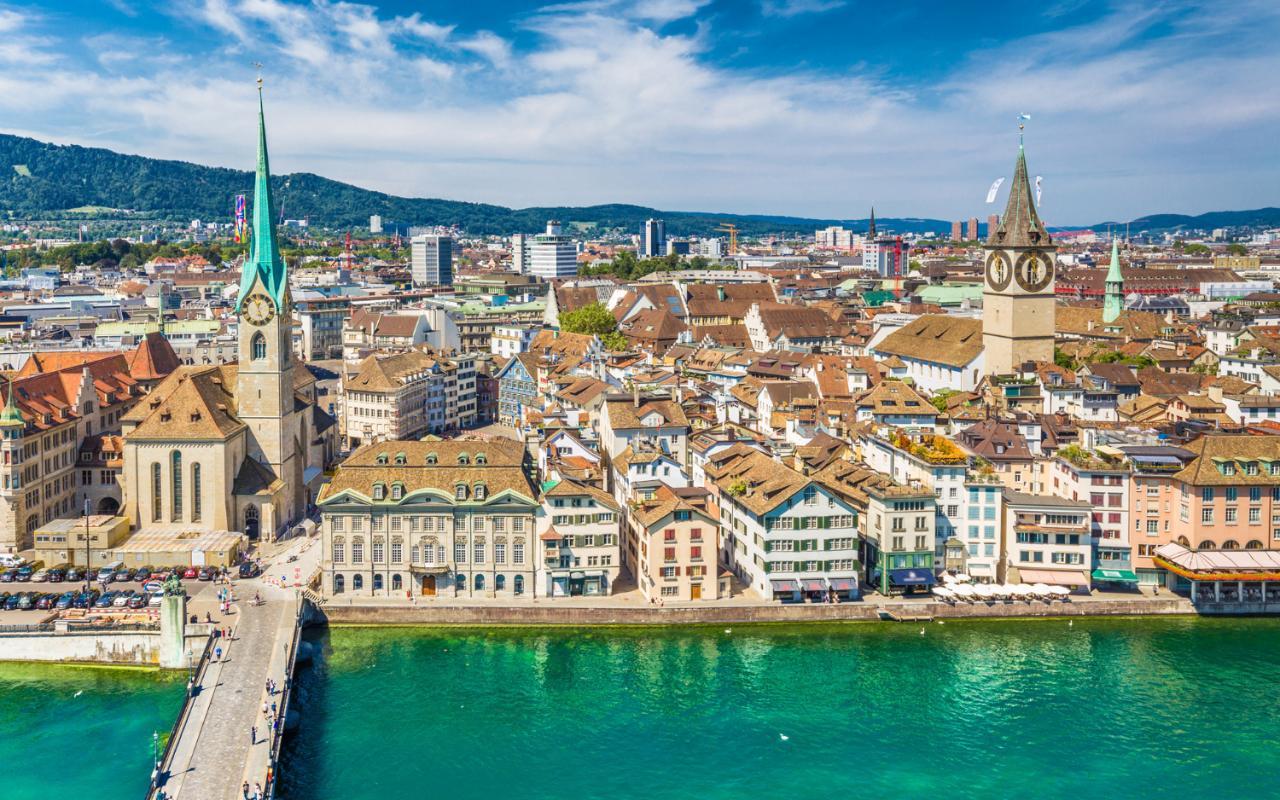 City landscape Zurich