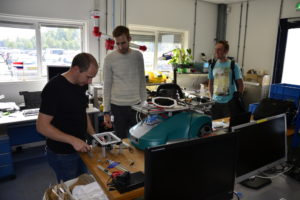 Construction of trimbot #3